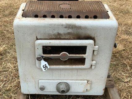 Warm bright wood heater