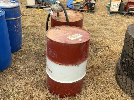 200L fuel drums