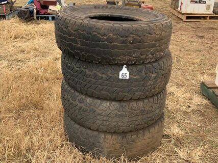265/70 R16 tyres