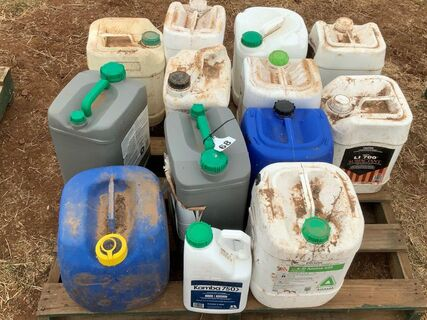 Various weed management products