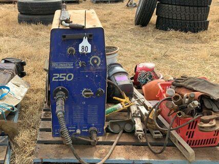 Weldmaster 250 MIG welder