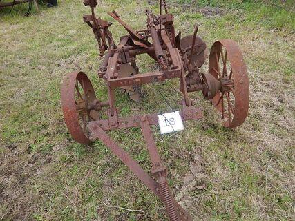Trailing Mouldboard Plough