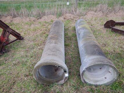 2 x Concrete Pipe Culverts