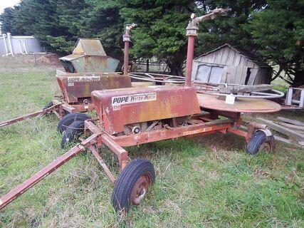 3 x Pope T30 Water Winch Irrigators