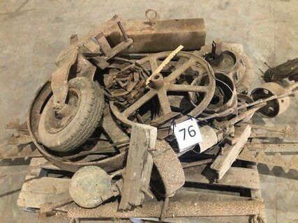 Old Pulleys & parts