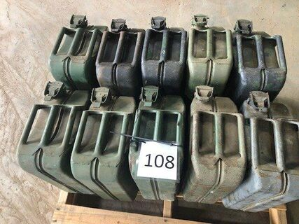 10 x Jerry Cans