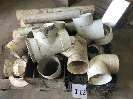 Assorted PVC Pipe Fittings