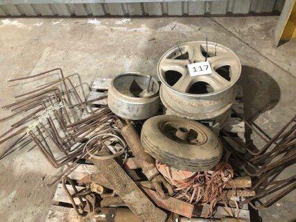 Assorted Steel Rims