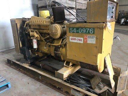 Caterpillar SR4 164KW Skid Mount Generator