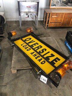 Oversize' Signs & Flashing Lights