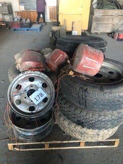 Wheels/Baling Twine