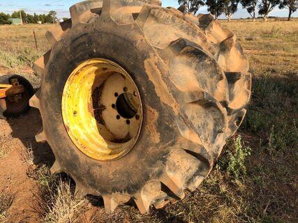2 x Rice Tyres & Rims