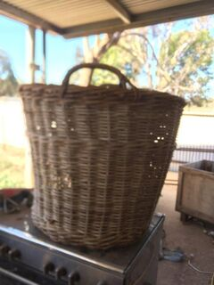 2 x Wool Basket