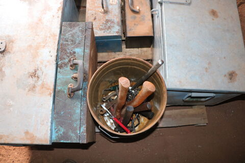 Assorted Toolboxes & Tools