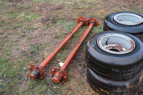 Axle & Tyres