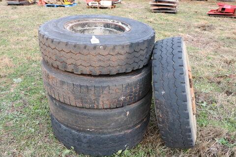 Truck Tyres & Rims