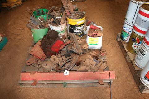 Assorted Combine Parts