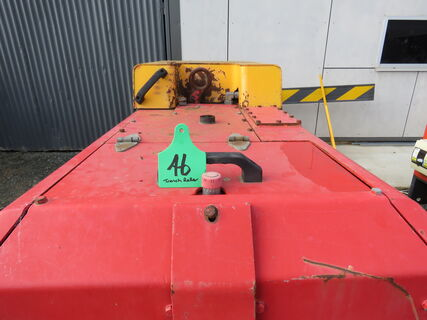 Dynapac trench roller