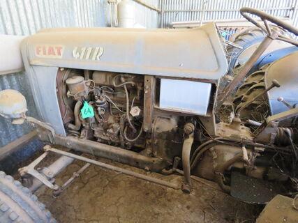 Fiat 411 R tractor