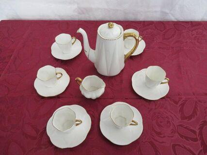 """Shelley 'Regency"""" 14 pce coffee set"""