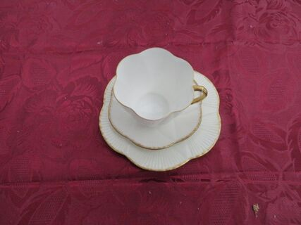"""Shelley """"Regency"""" Trio Large cup, saucer & plate"""