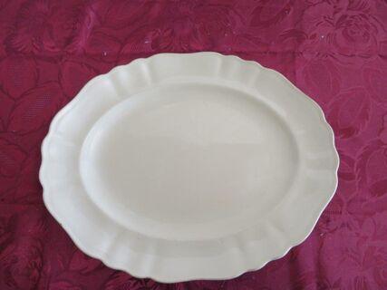 J & G Meakin Cream meat platter R561073