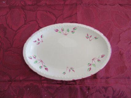 "Swinnertons Staffordshire ""Majestic Vellum"" oval cake plate"