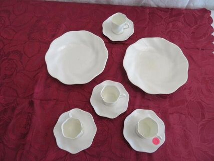 Coalport Demitasse cups and saucers x 4