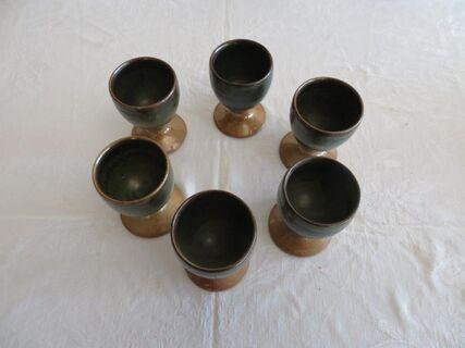 Retro Pottery goblets