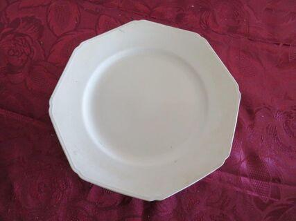 """Grindley"" octagonal plate"