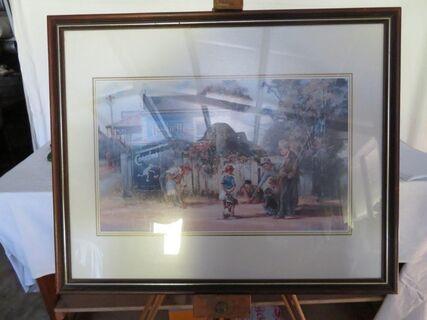 "Darcy Doyle Big Ring"" framed print"