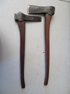 Morticing axe x 2