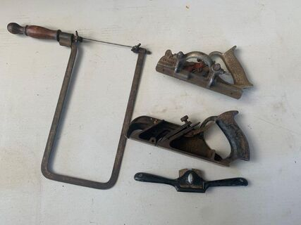 Collection of wood working tools