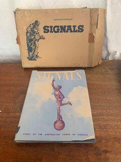 Signals book hard cover
