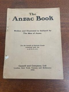 Story of the ANZAC 1916 no cover