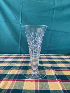 crystal vase excellent condition