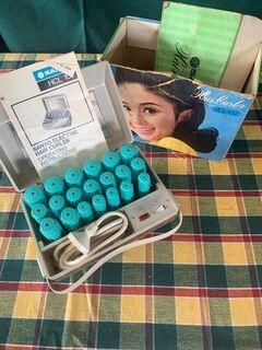 Vintage heat rollers