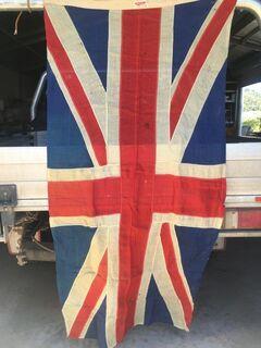 Pair - Woollen Flags