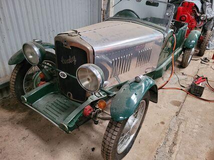 Crossley 10 Quicksilver 1932 Sports Racer