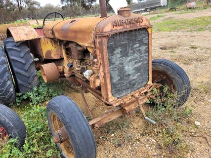 Allis Chalmers A Series Tractor