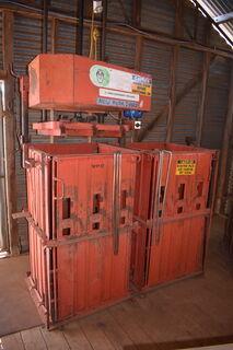 Sunbeam twin box wool press (new motor)
