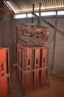 Sunbeam single box wool press