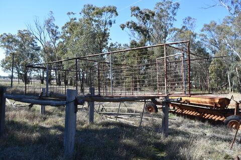 Truck sheep crate