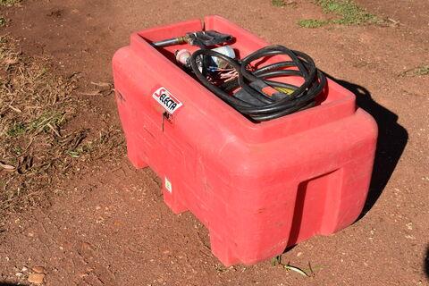 Silvan 200lt spot spray tank