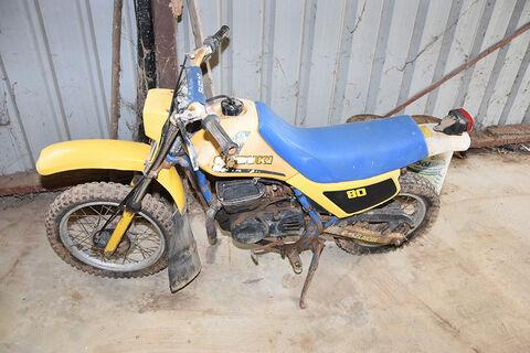 Suzuki DS80 mini bike