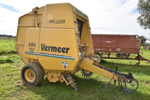 Lely Vermeer Baler