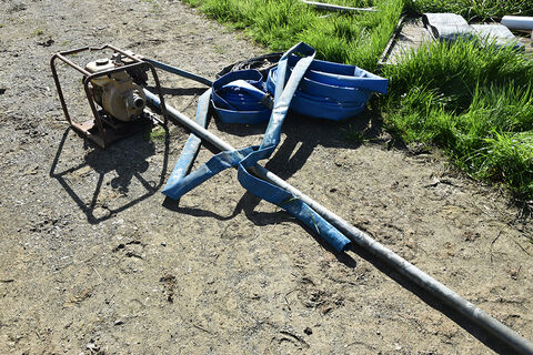 "2"" Honda Pump & rolls pipe"