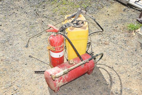 Spray unit & fire extinguisher