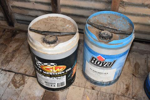 Western Oil Drum