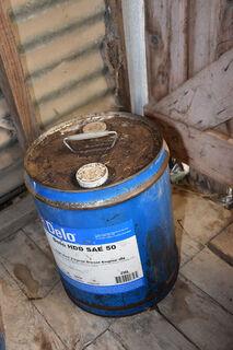 Bedlo Engine Oil Drum